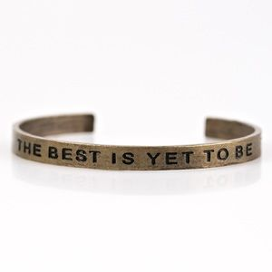 The Best is Yet to Be